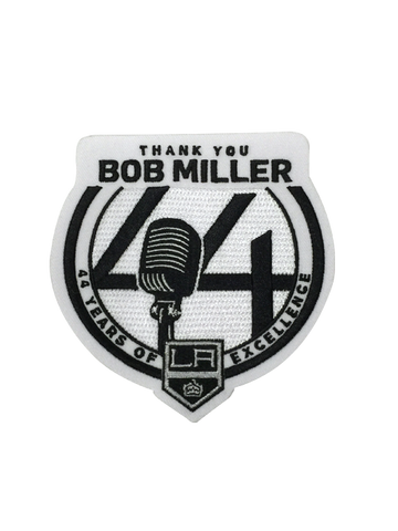 LA Kings Bob Miller Thank You Patch