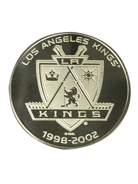 LA Kings 50th Anniversary Sun Shield Bronze Minted Coin