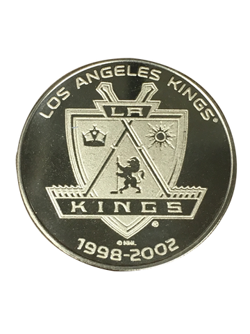 Los Angeles Kings 50th Anniversary Sun Shield Bronze Minted Coin