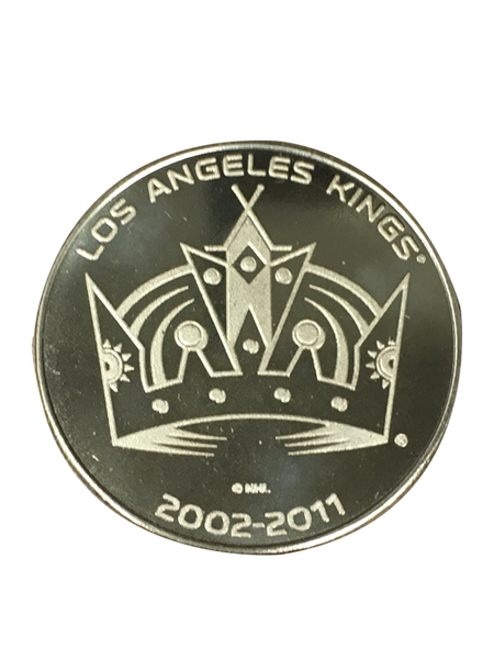 Los Angeles Kings 50th Anniversary Crown Bronze Minted Coin