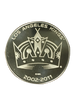 LA Kings 50th Anniversary Crown Bronze Minted Coin