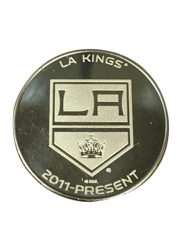 Los Angeles Kings 50th Anniversary Shield Bronze Minted Coin
