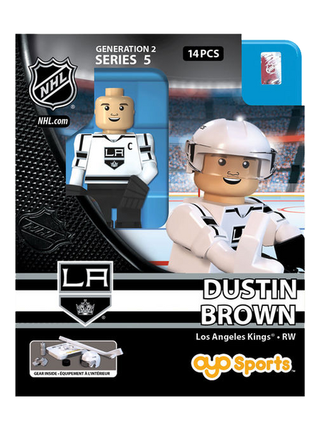 Los Angeles Kings Dustin Brown Road OYO Figurine