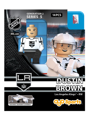 LA Kings Dustin Brown Road OYO Figurine