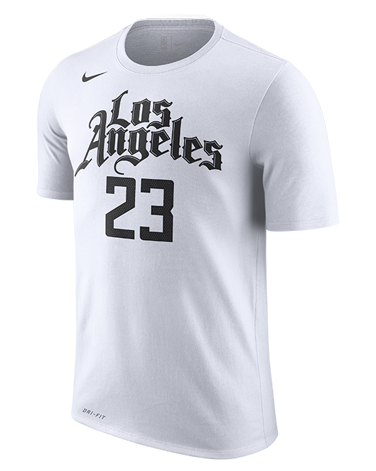 LA Clippers Lou Williams City Edition Player Tee - White