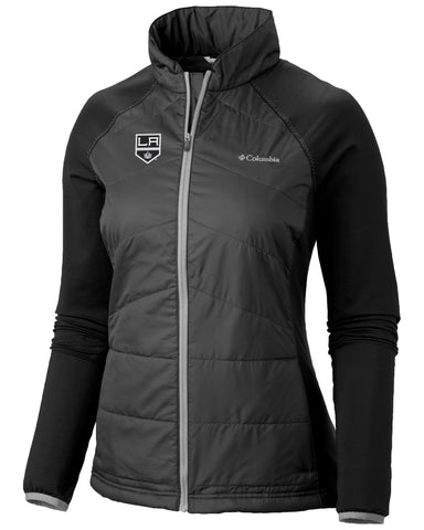 LA Kings Women's Mach 38 Full Zip Jacket - Black