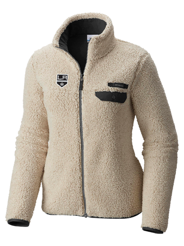 LA Kings Women's Mountanside Full Zip Jacket - Cream