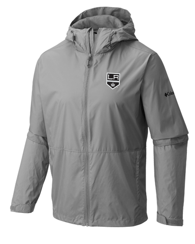 LA Kings Roan Mountain Water Repellent Jacket - Grey