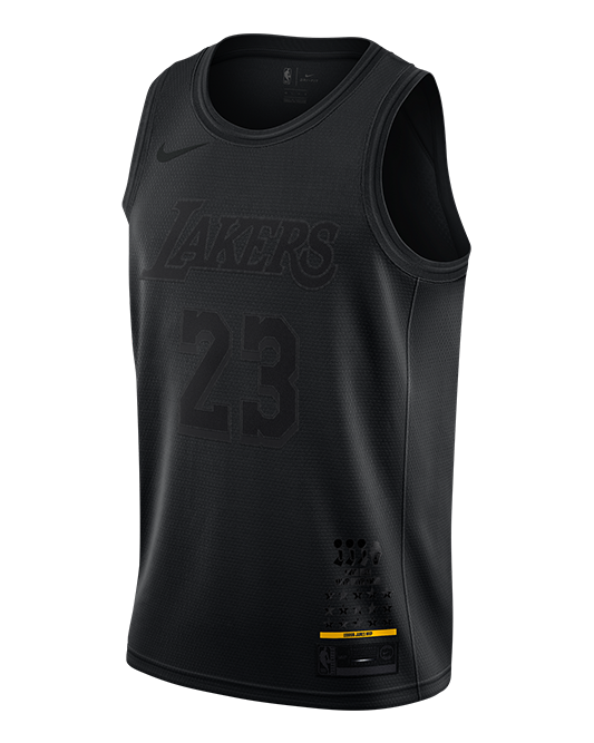 008a0aca524 Los Angeles Lakers LeBron James MVP Swingman Jersey – TEAM LA Store