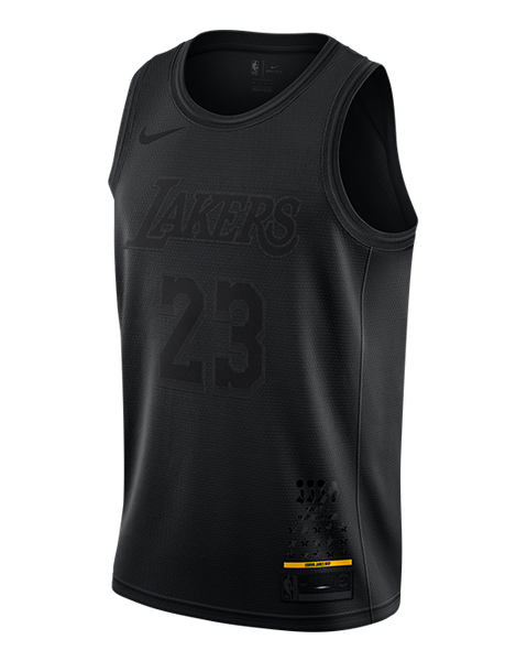 3e028459e3a Los Angeles Lakers LeBron James MVP Swingman Jersey. Quick shop