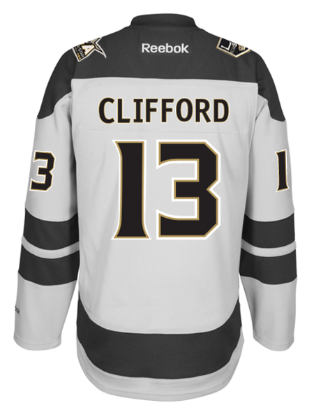 Los Angeles Kings 50th Anniversary Kyle Clifford Premier Jersey