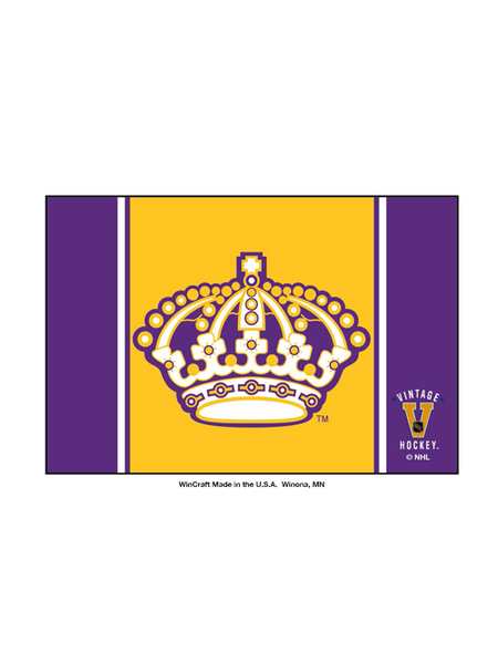 Los Angeles Kings 50th Anniversary Inaguro Logo Fridge Magnet