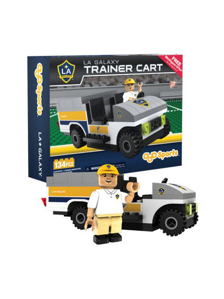 LA Galaxy Trainer Cart OYO Figurine