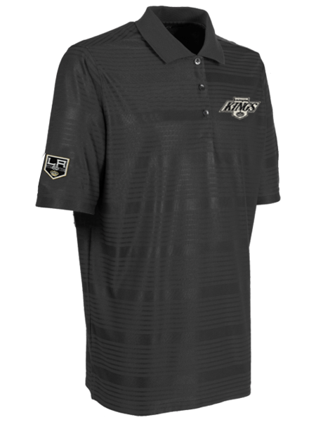 Los Angeles Kings 50th Anniversary Chevron Illusion Polo