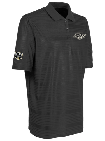 LA Kings 50th Anniversary Chevron Illusion Polo