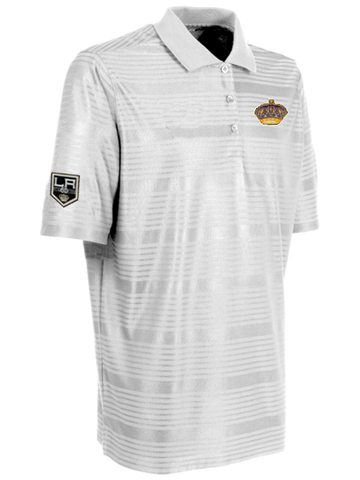 Los Angeles Kings 50th Anniversary Queens Crown Illusion Polo