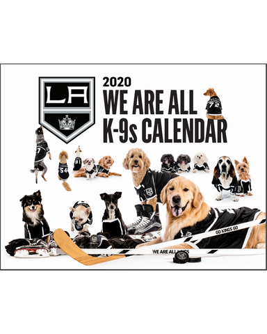 LA Kings 2020 We Are All K-9s' Dog Calendar