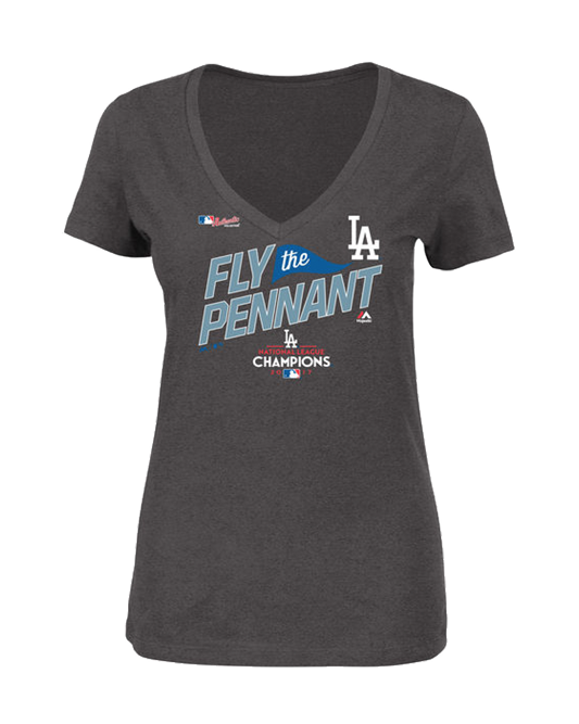 3a905433 Los Angeles Dodgers National League Champions Women's T-Shirt – TEAM ...