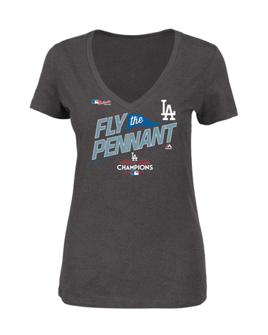 Los Angeles Dodgers National League Champions Women's T-Shirt