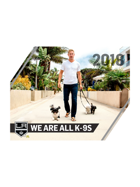 LA Kings 2018 We Are All K-9s' Dog Calendar