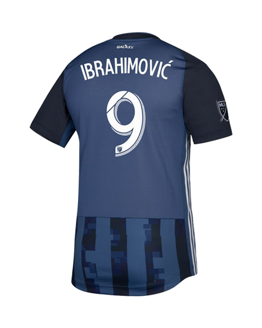 LA Galaxy Navy Night Zlatan Ibrahimović Authentic Secondary Jersey