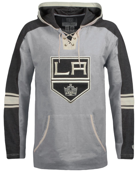 Los Angeles Kings Cable Tonal Applique Hoodie