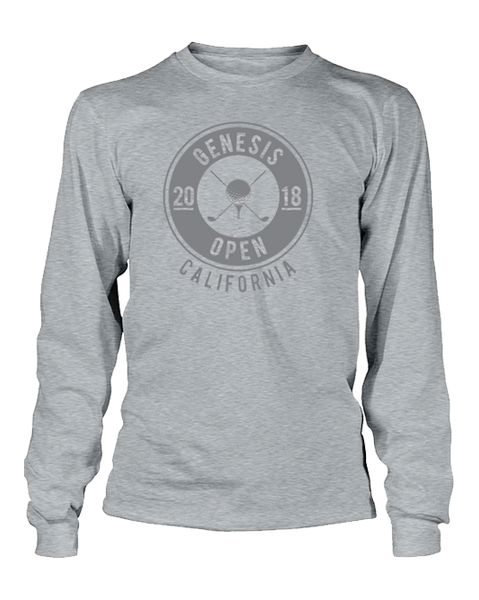 Genesis Open Cross Club Fleece - Gray