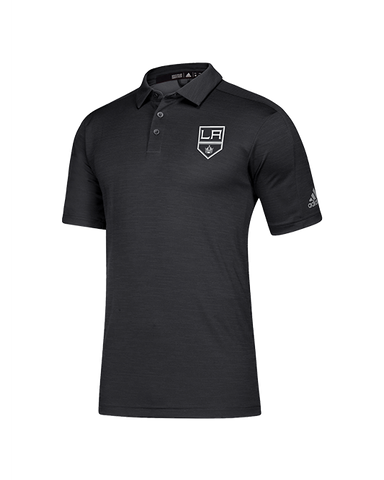LA Kings Game Mode Short Sleeve Polo - Black