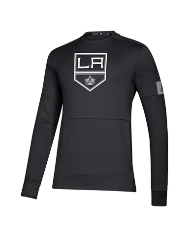 LA Kings Game Mode Crew Long Sleeve Fleece - Black