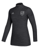 LA Kings Women's Game Mode Quarter Zip Pullover - Black