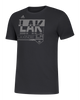 LA Kings Hyper Initials Short Sleeve Tee - Black