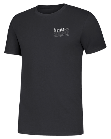 LA Kings Tape To Tape Short Sleeve Tee - Black