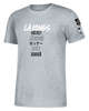 LA Kings Global Game Short Sleeve Tee - Grey