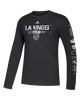 LA Kings Powered By Long Sleeve T-Shirt - Black/White