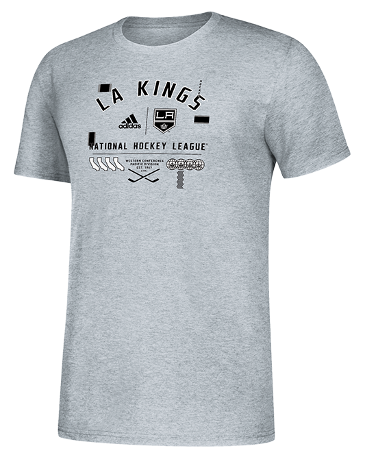 LA Kings Worldwide Short Sleeve Tee - Grey