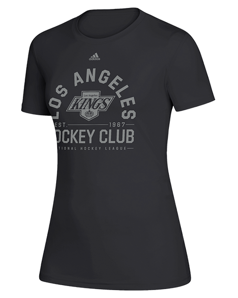 LA Kings Womens Wrap Around Chevy Short Sleeve Tee