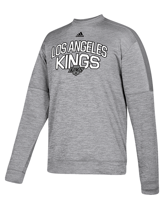 LA Kings Legend Crew Chevy Pullover - Grey/White