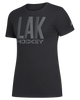 LA Kings Women's Pixel Phase Short Sleeve Tee - Black/Grey