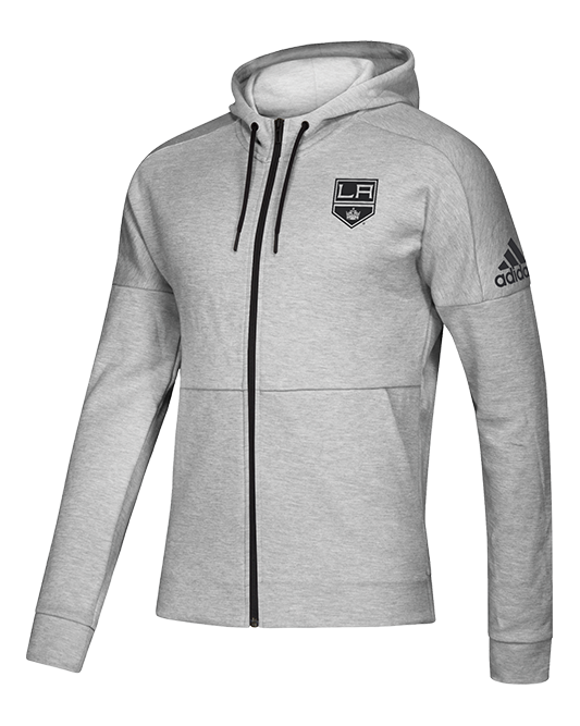LA Kings Stadium I.D. Full Zip Jacket - Grey/Black