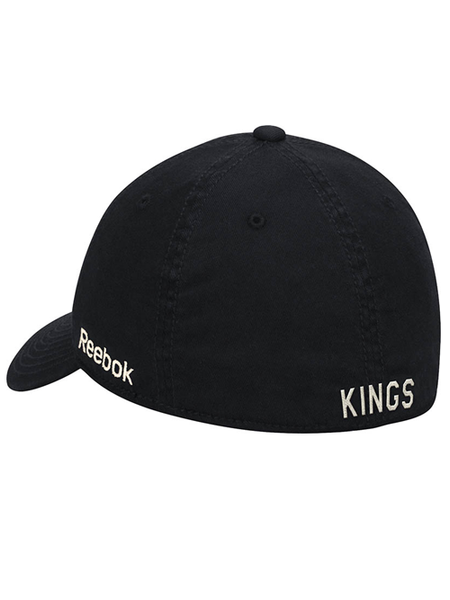 Los Angeles Kings Face Off Primary Logo Slouch Flex Cap