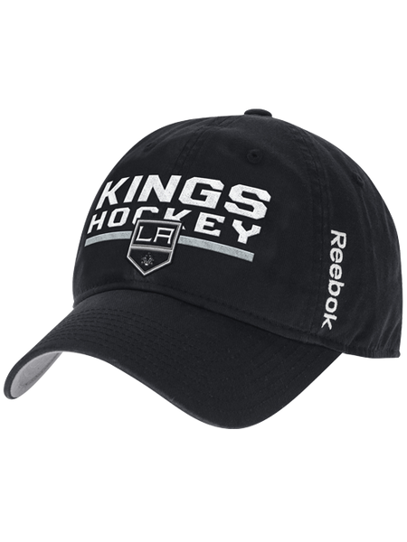 Los Angeles Kings Locker Room Adjustable Slouch Cap