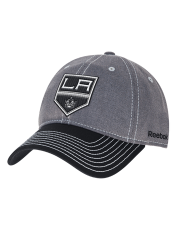 Los Angeles Kings Contrast Stitch Adjustable Slouch Cap