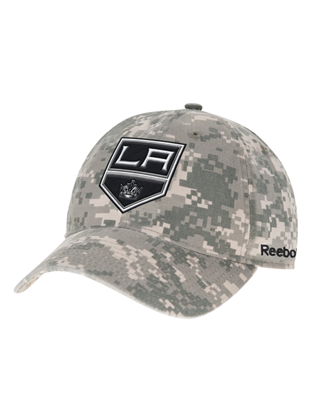 Los Angeles Kings Digital Camo Adjustable Slouch Cap