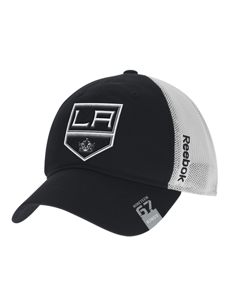 Los Angeles Kings Center Ice Team Flex Slouch Mesh Cap