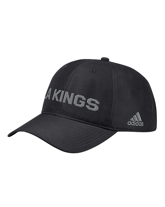 LA Kings City First Adjustable Slouch Cap - Black