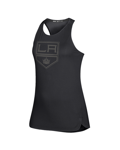 LA Kings Womens Game Mode Training Tank - Black