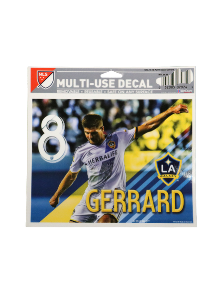 Galaxy Steven Gerrard Decal