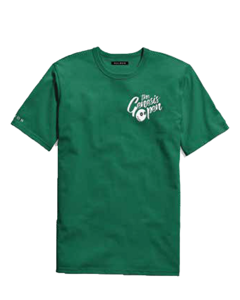 Genesis Open Short Sleeve T-Shirt - Green