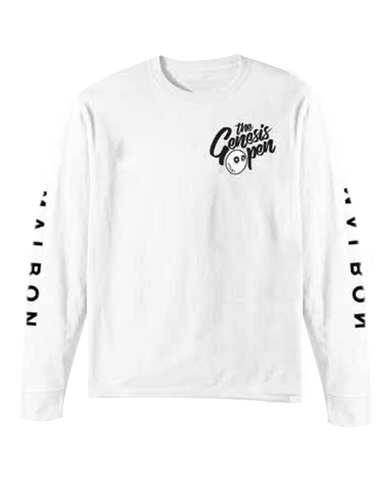 Genesis Open Long Sleeve T-Shirt - White