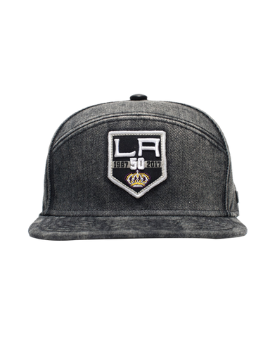 Los Angeles Kings 50th Anniversary Limited Edition Denim Cotton Cap